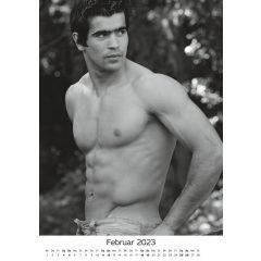 Akt férfi naptár 2020