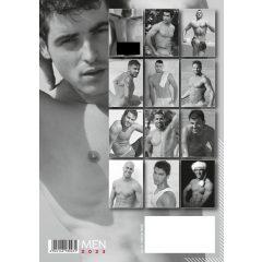 Akt férfi naptár - 2021 (1db)