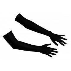 Cottelli - Szatén kesztyű (fekete)