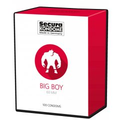 Secura Big Boy - 60mm-es óvszerek (100db)