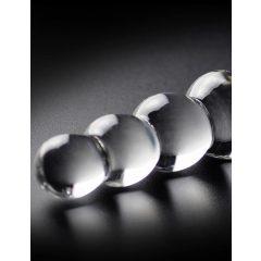 Icicles - gömbös üvegdildó