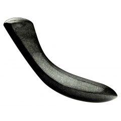 LAID D.2 - gránit dildó (fekete)