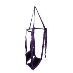 Fuck Swing - szexhinta ülőkével (lila-fekete)