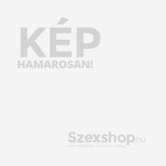 Anal Plug L - fogógyűrűs anál kúp dildó - nagy (fekete)