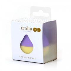 Iroha mini - mini csikló vibrátor (lila-sárga)