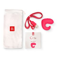 G-ring - USB-s ujj vibrátor (pink)