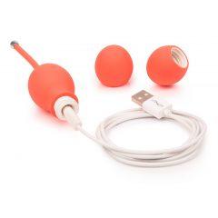We-Vibe Bloom - akkus gésagolyó cserélhető súlyokkal (narancs)