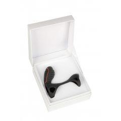 Adrien Lastic Gladiator - akkus, rádiós péniszmandzsetta (fekete)