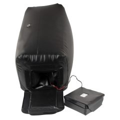 Dark Magic - elemes szex-gép ággyal (fekete)