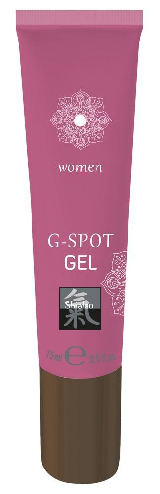 HOT Shiatsu G-Spot - G-pont stimuláló intim gél (15ml) - Dis