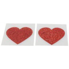 Csillogó bimbómatrica - szív