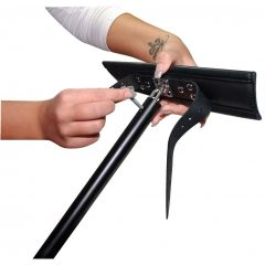 ZADO - nyak-, kéz- és lábterpesz (fekete)