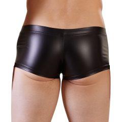 NEK - fényes rövid boxer (fekete)