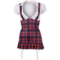 Cottelli - Kockás iskoláslány ruha