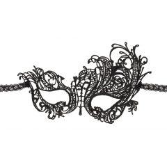Cottelli - Hímzett, aszimmetrikus álarc (fekete)
