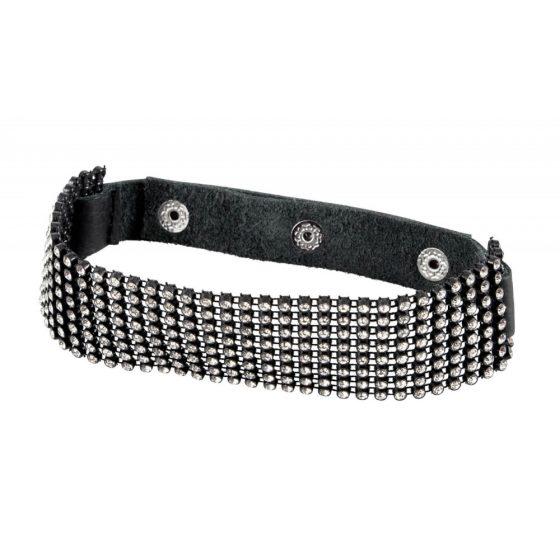 Bad Kitty - strasszos nyakpánt (fekete)