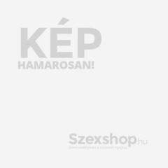 Cottelli Plus Size - fényes, csipkés, gyöngyös nyitott body (fekete)
