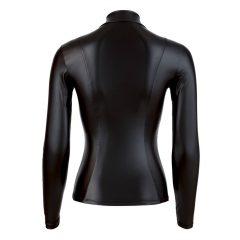 Cottelli - fényes hosszúujjú női felső (fekete)