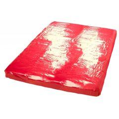 Fényes lepedő (piros)