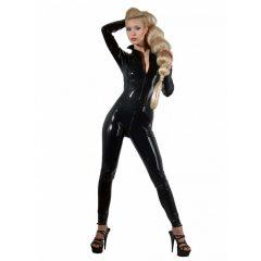 LATEX - hosszúujjú női overall (fekete)