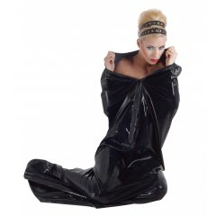 LATEX - cipzáros szaunazsák (fekete)