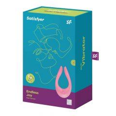 Satisfyer PARTNER Multifun 2 -akkus párvibrátor (pink)