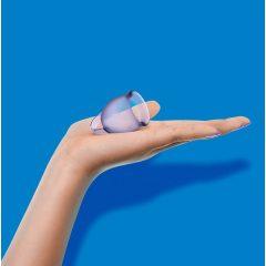 Satisfyer Cup - menstruációs kehely szett (lila) - 2db