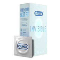 Durex Invisible Extra Thin - extra szenzitív óvszer (10db) -