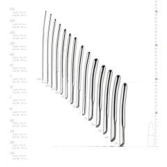 SINNER 174 - íves komplett acél húgycsőtágító dildó szett (14 részes)
