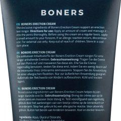 Boners Erection - stimuláló intim krém férfiaknak (100ml)
