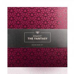 LoveBoxxx The Fantasy - vibrátoros kötöző szett (6 részes)