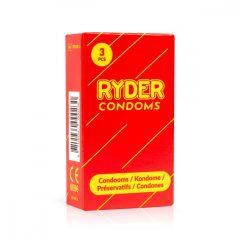 Ryder - kényelmes óvszer (3db)