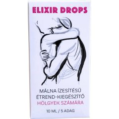 ELIXIR - növényi étrend-kiegészítő csepp nőknek (10ml) - málna