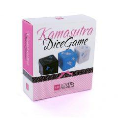 LOVERSPREMIUM KamaSutra - szex dobókocka szett (3 részes)