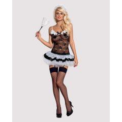 Obsessive Housmaid - francia szobalány jelmez szett (5 részes)