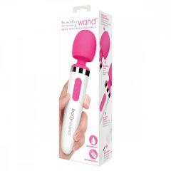Bodywand Aqua Mini - akkus, vízálló masszírozó vibrátor (fehér-pink)