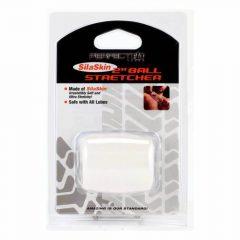 SilaSkin Ball Heregyűrű és nyújtó (tejfehér)