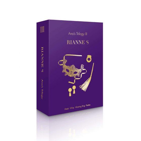 Rianne Ana trilógia III - érzéki erotika szett (4 részes)