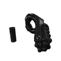 Bathmate Vibe Ring Tickle - akkus, vibrációs péniszgyűrű (fekete)