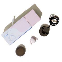 DAME EVA II. Hands Free - vízálló csiklóvibrátor (fehér)