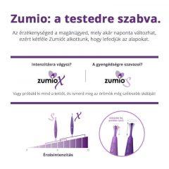 Zumio Soft - akkus csiklóvibrátor (lila)