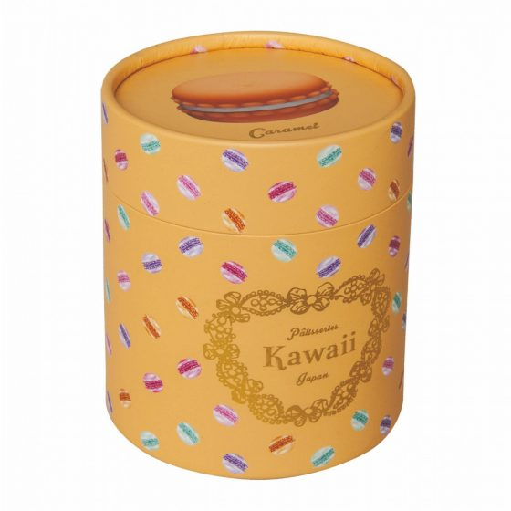Kawaii Macaroon - akkus, vízállló csikló vibrátor (karamell)
