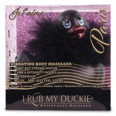 My Duckie Paris 2.0 - játékos kacsa vízálló csiklóvibrátor (fekete)