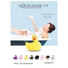 My Duckie Paris 2.0 - játékos kacsa vízálló csiklóvibrátor (ezüst)