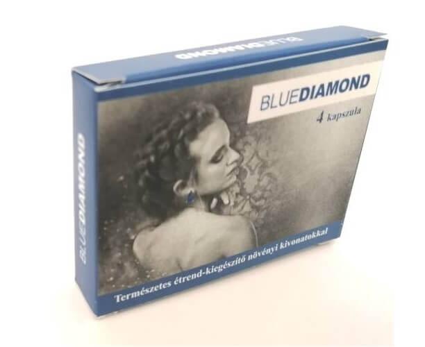Blue Diamond For Men - természetes étrend-kiegészítő növényi kivonatokkal (4db)